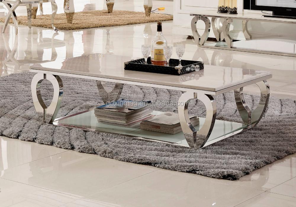C376 New Design Living Room Marble Center Table