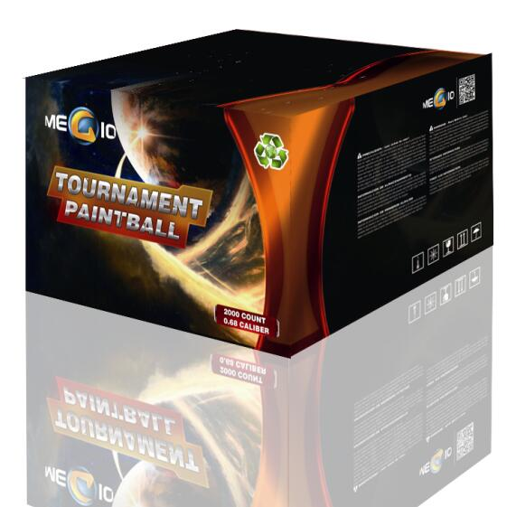 China 0.68 Tournament Paintballs 2000 PCS For Wholesale Equivalent to GI 5-STAR Paintball