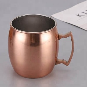 550ml Moscow Mule Mugs , Mule Copper Cup