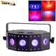 Dj lights christmas decoration stage light 5x8w RGBW+UV 6in1 beam wash disco light