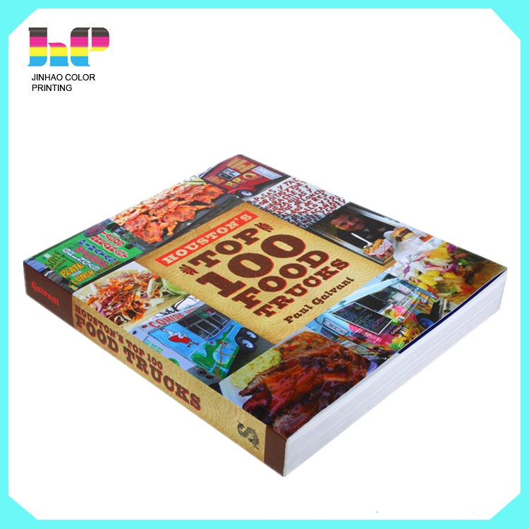 Shenzhen good quality Professional softcover books, catalogs printing service