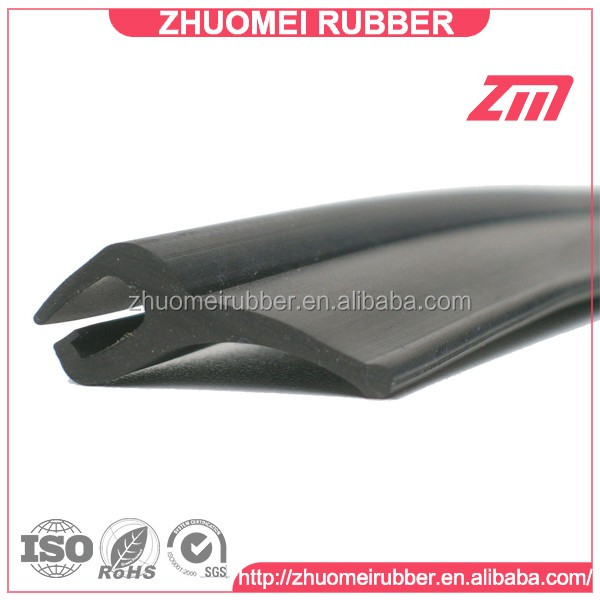 dust proof wheel arches rubber extruded fender flare