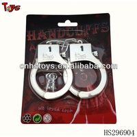 Wholesales plated police handcuffs