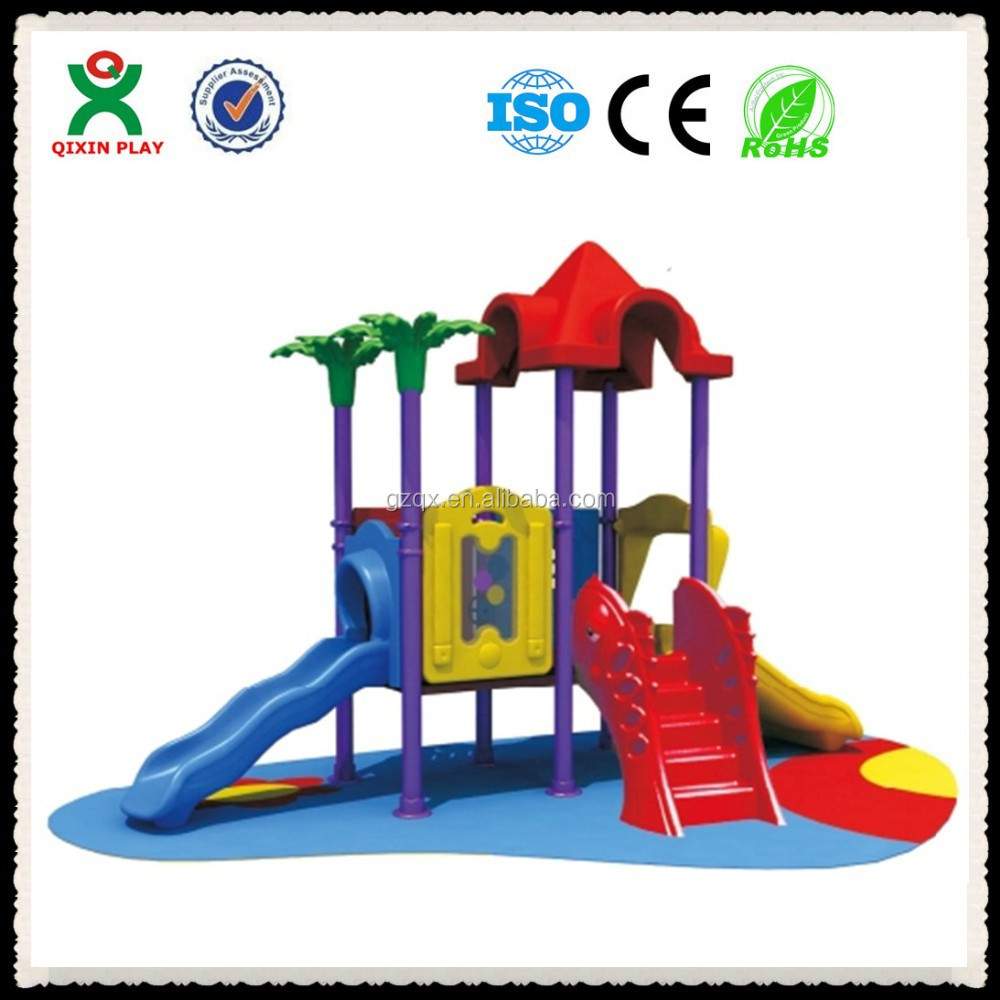 Guangzhou factory cheap Childrens outdoor playsets garden activities garden play QX-068F