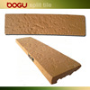 Beige clinker wall cladding ceramic thin brick handmade