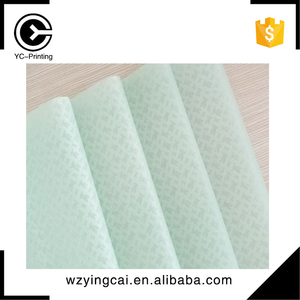 Custom colored fashionable green wrapping tissue paper for shoes