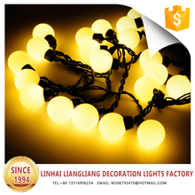 colorful party decoration ball shape led string light