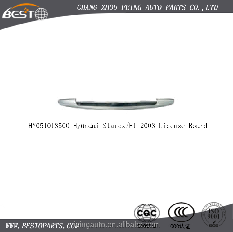 87310-4a010 Hyundai Starex/h1 2003 License Board - Buy Hyundai ...