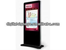 "42"" Online Marketing Campaign LCD Floor Stand Ad Player for Digital Signage Solutions"