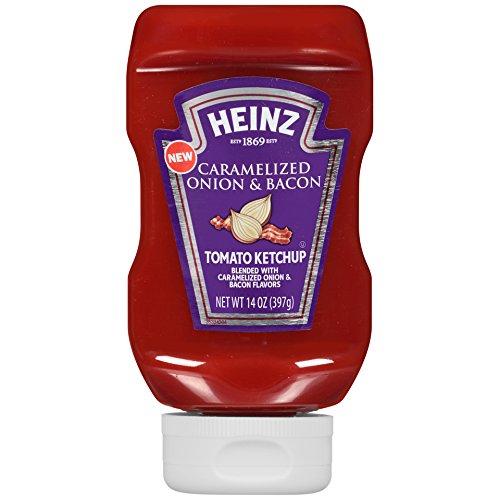 Heinz Caramelized Onion & Bacon Tomato Ketchup, 14 oz