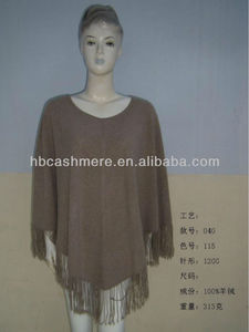 2013 new Style Cashmere Cape Sweater