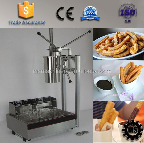 Mini churro jam filling machine factory