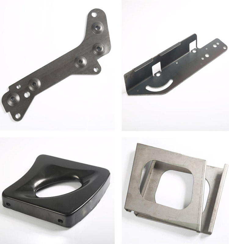 High Precision Aluminum Steel Sheet Metal Fabrication Aluminium Stamping Machining Parts