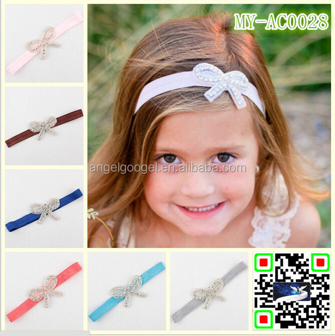 Hot selling European 12 colors parties accessories for hair latest hairband designs MY-AC0027