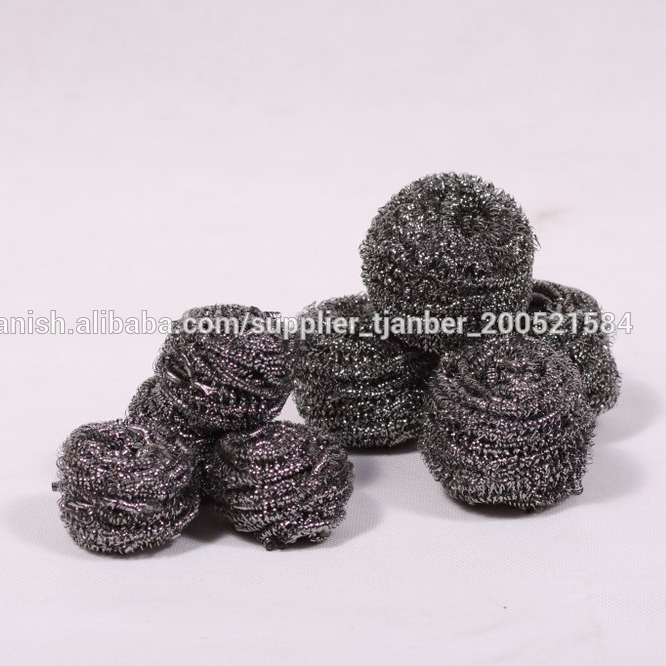 STAINLESS STEEL SPIRAL SCOURER SCRUBBER HEAVY DUTY PAN CLEANING PAD