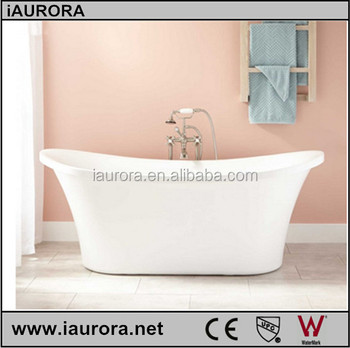 Cheap Price Acrylic Hip Bath Tub With Two Ends Roll Up