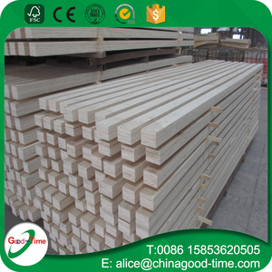 Low price poplar/pine LVL laminated scaffold plank board for Construction & Real Estate