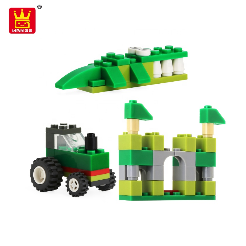 Toy JOHN DEERE TYPE TRACTOR Legoings Building Blocks Toy //// New Lego Compatible