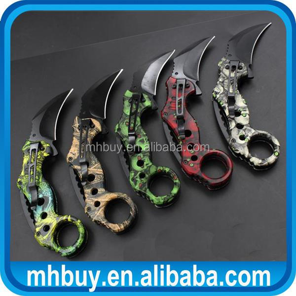 Professional foldable claw <strong>knife</strong>, keychain utility outdoor tools made in China