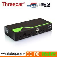 High Safety 3000times long life with 2 USB car jump starter target
