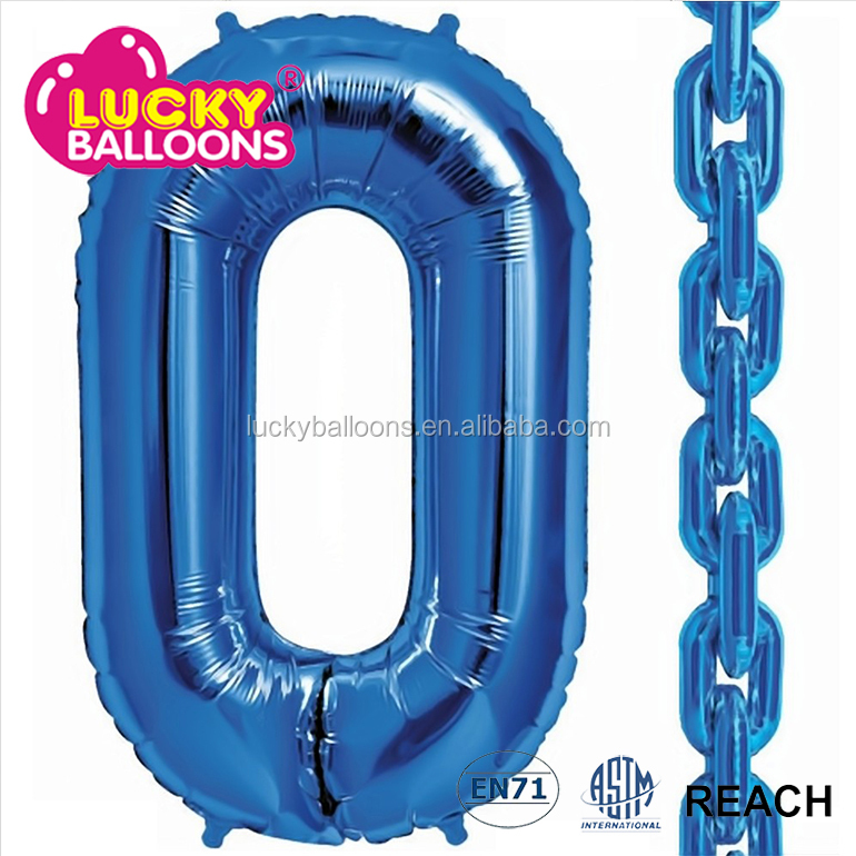 chain link balloon inflatable cartoon characters foil letter balloons