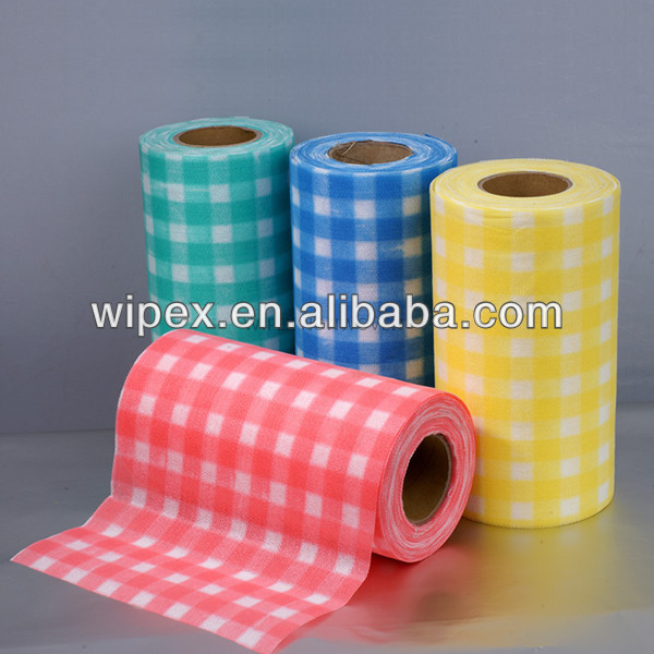 High quality nonwoven colour coded wipes