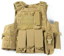 Aramid Military Tactical Combat Bulletproof Vest with MOLLE
