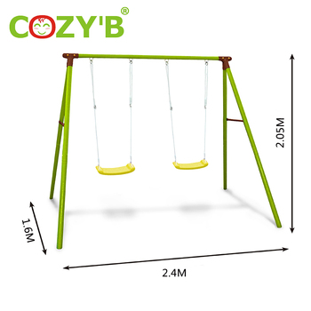 Admirable Park Playgrounds Kids Plastic Play Steel Garden Outdoor Double Seat Swing Buy Double Seat Swing Swing Chair Kids Swing Product On Alibaba Com Theyellowbook Wood Chair Design Ideas Theyellowbookinfo