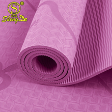 TPE recyclable non-slip mats gymnastics thick yoga mats