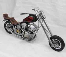 Cheap Antique Vintage Metal Motorcycle Model