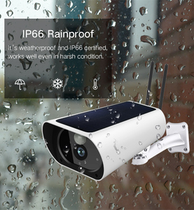4G GSM Network Solar IP Camera HD Outdoor Security Surveillance Solar 4G Camera IP67