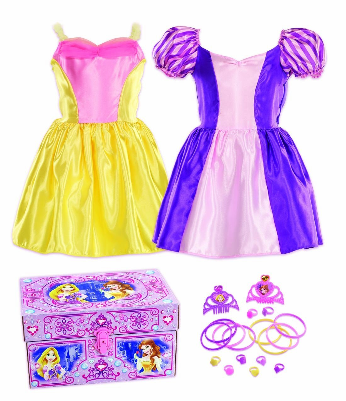 Disney Princess Bling Rapunzel and Belle Dress-Up Trunk
