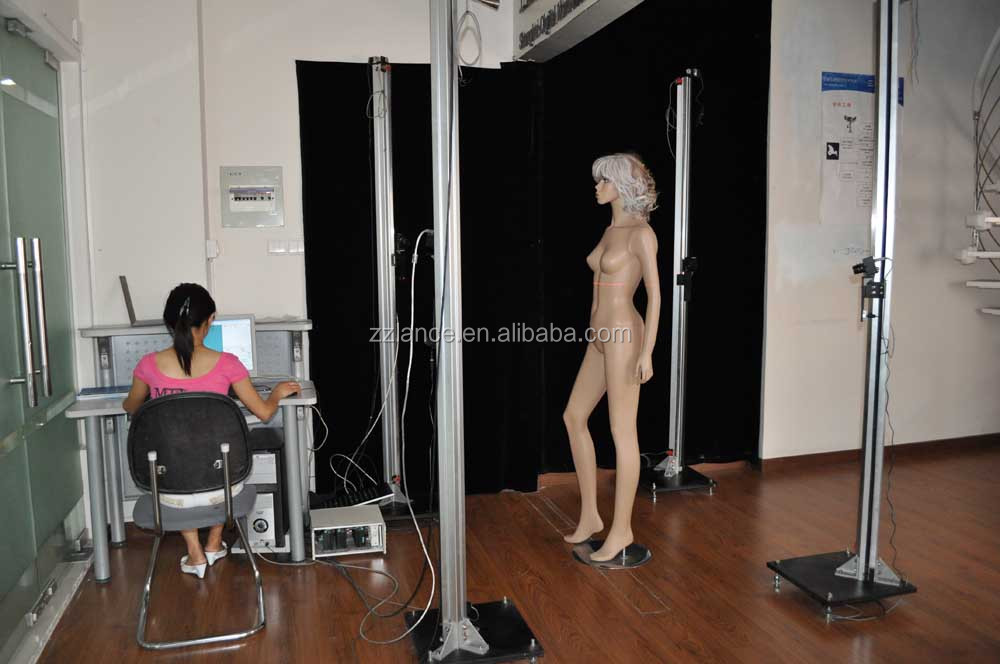 New product whole body measurement 3d scanner china price for tailoring with software and video