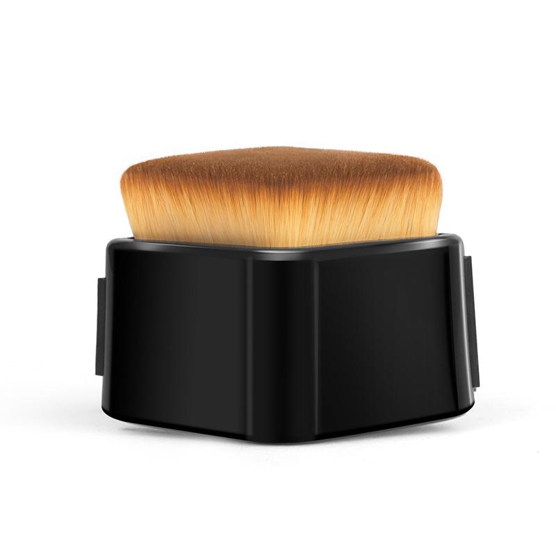 BLD Makeup Brush Portable with Multifunctional Cap Kabuki Foundation Brush фото