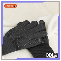 SHINEHOO Heat Resistant Cooking & Baking Safety Work Gloves