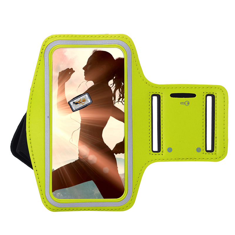 oem elastic arm band for iphone 6/6p armband cellphone holder cover for running sporting