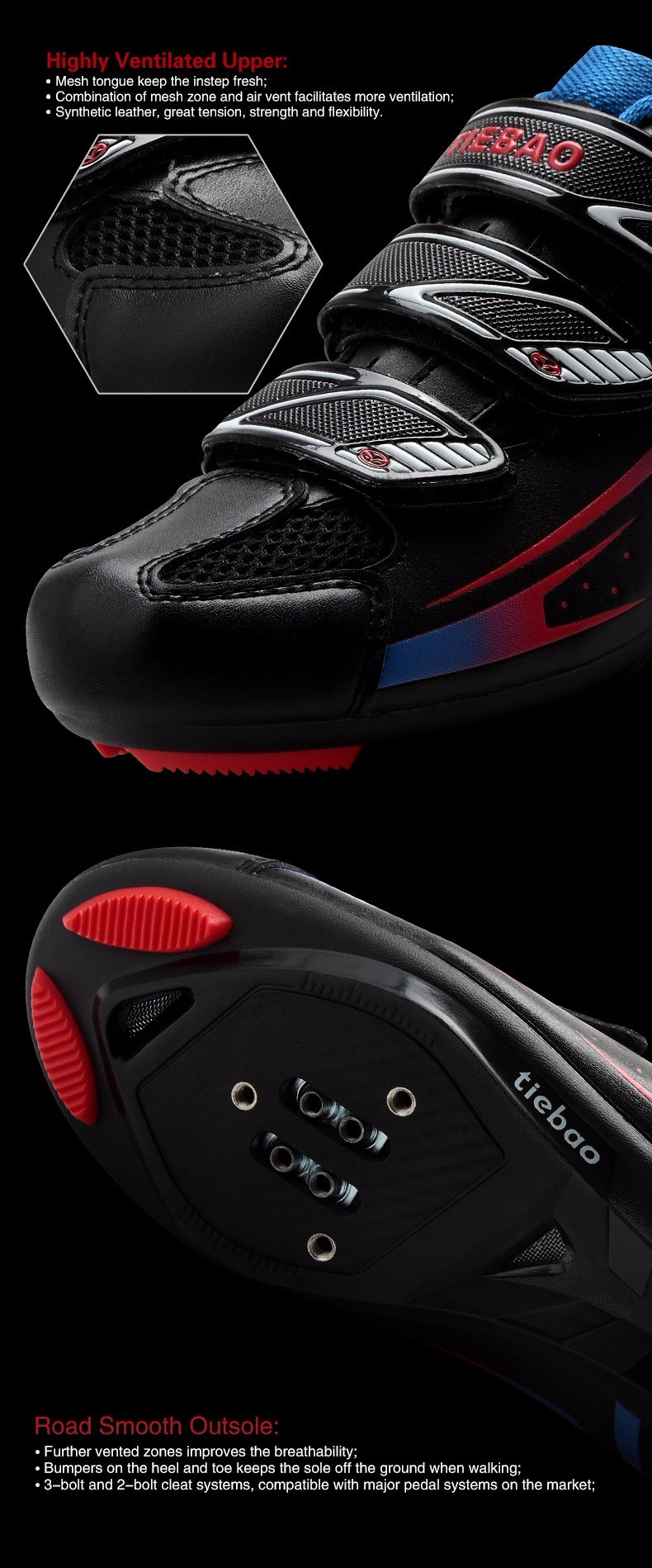 2016 HOT SALE PLAIN STYLE CYCLING ROAD SHOES WITH REASONABLE PRICE