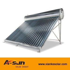 Indirect / Closed Loop (Active) Circulation Type and Freestanding Installation solar water heaters