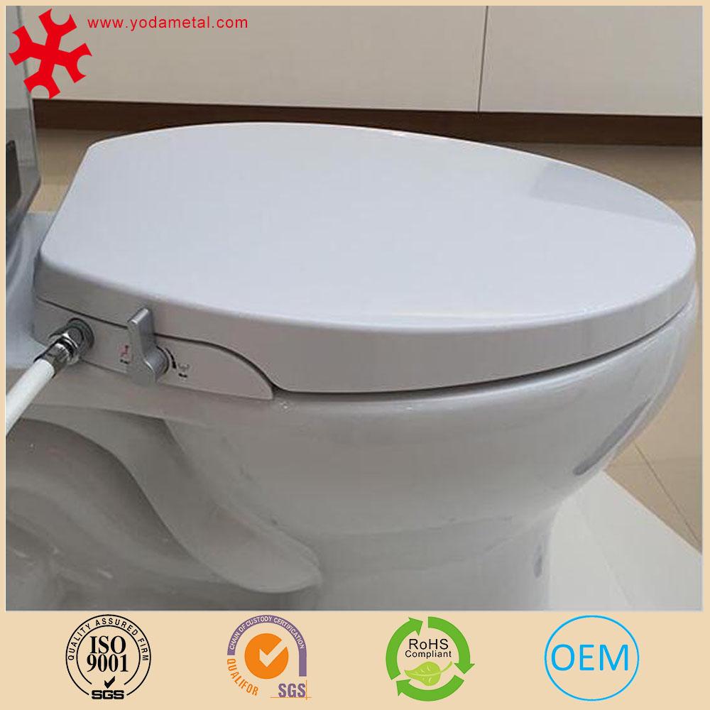 Non Electric Bidet Toilet Seat Slow Close Pp Material Dual