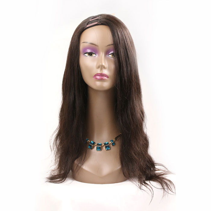 100 Real Human Hair Long Length U Part Wigs Hot Selling Wavy Style Wigs