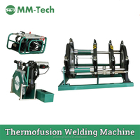 Hdpe pipe 355MM automatic butt fusion welding machine