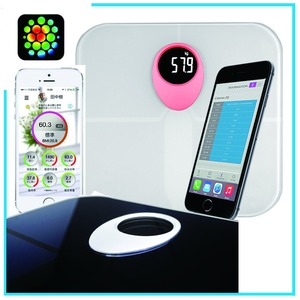 ITO glass digital bathroom scale OEM CE healthy weight tracker body weighing 180kg electronic personal scale
