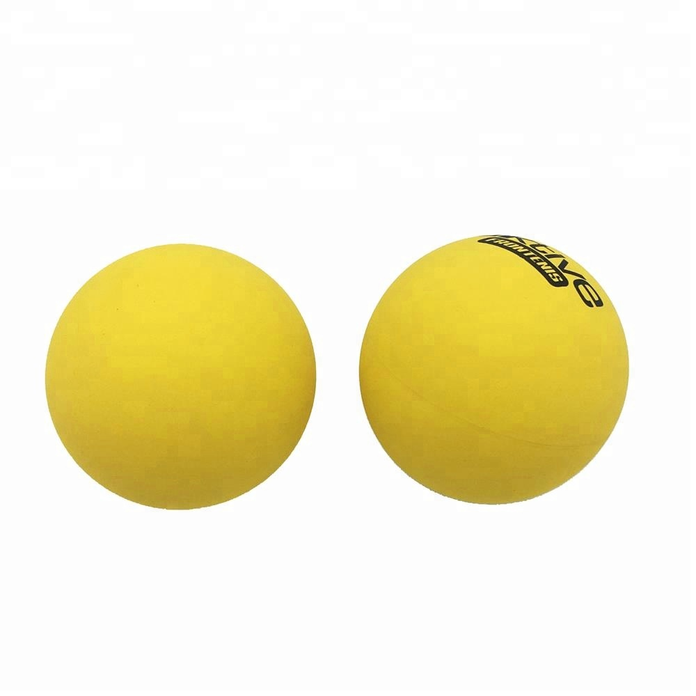 R556 Wholesale 55mm Diameter Yellow Stock High Bouncing <strong>Ball</strong> Racquet <strong>Ball</strong>