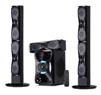 3.1 super bass seven color light home theatre system