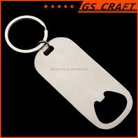 Customzied logo bulk beer bottle opener keychain