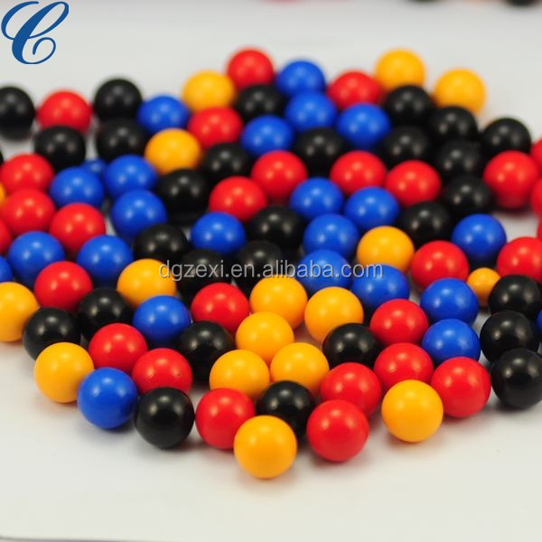 Round Beads of Colorful Acrylic Beads