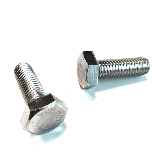 stainless steel fasteners hex bolts nuts washers