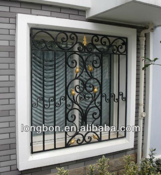 Iron Window Grill Design, Iron Window Grill Design Suppliers And  Manufacturers At Alibaba.com
