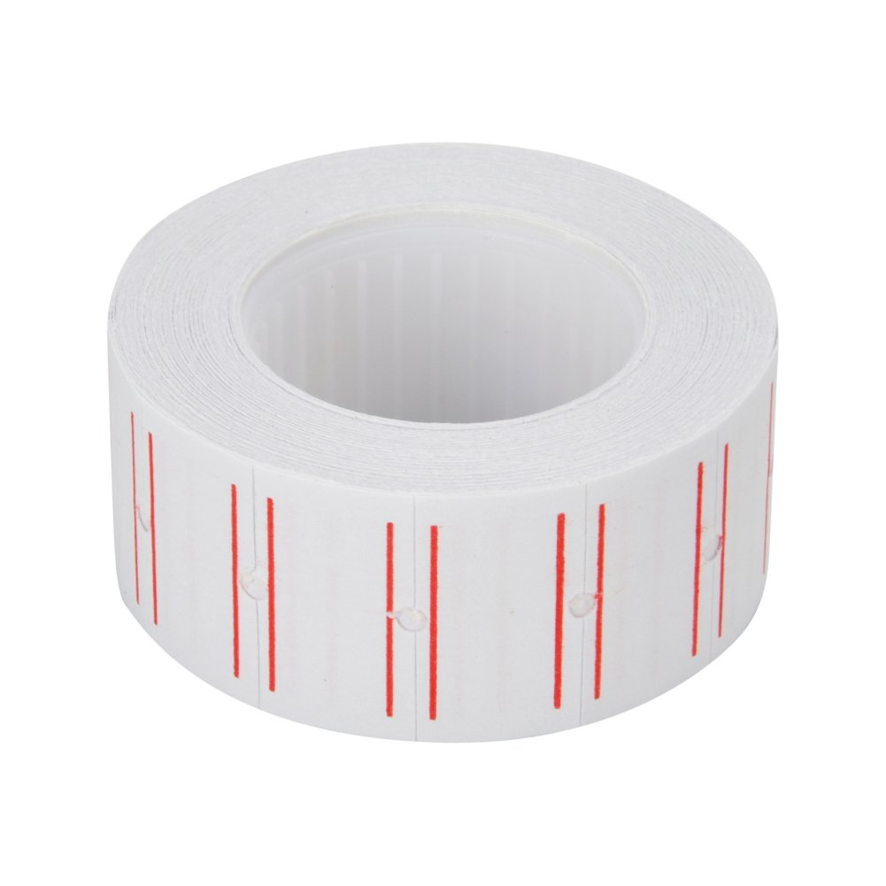 9527 Product 12 Rolls 7200pcs Price Gun Labels Paper for Mx-5500 Labeller White