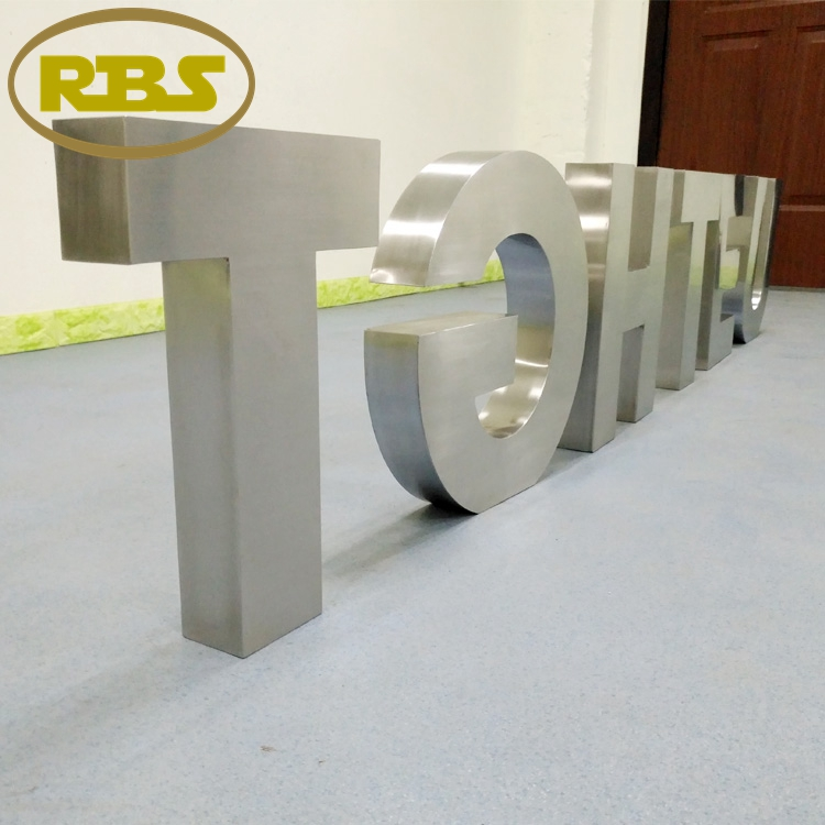 China supplier sale cheap diy long life 3d led stainless steel metal letter sign